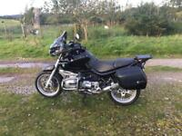 BMW R 1150 R, Black with lots of extras.