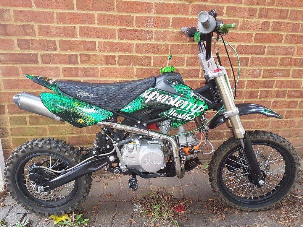 140cc Super Stomp Pit Bike Pitbike Dirt Bike Scrambler Midi