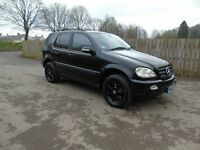 Mercedes ML 270 CDI 4X4 Auto Full Black Leather Low Mileage Cheap Truck