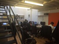 DESK 4 HIRE- we have 7 desks for monthly hire in South East London (1min from Kennington Tube)