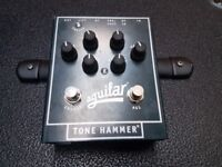 Aguilar Tone Hammer Preamp/Direct Box D.I. Pedal + POWER SUPPLY! Bass EQ
