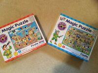 2 complete Galt magic puzzles