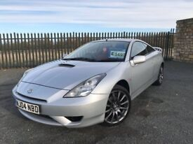 2004 54 TOYOTA CELICA RED VVT 1.8 *ONLY 2 FORMER KEEPERS* - FULL RED LEATHER - CLEAN EXAMPLE!!