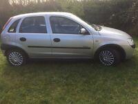 Vauxhal/Opel Corsa 1.2L 2002 Elegance 5 Door Silver