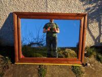 Mirror - wood frame