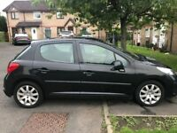 Peugeot 207 1.6 hdi diesel 2007 ,,,, only £30 year road tax