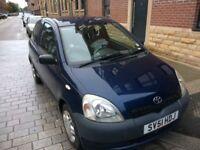 Toyota Yaris 2002, vvt-i, 3door hatchback, petrol (Low Mileage)