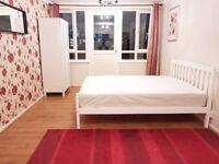 NO ADMIN FEES - MASSIVE DOUBLE BEDROOM IN FLATSHARE ZONE 2 WHITECHAPEL