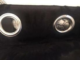 Brand new luxury black curtains!!BARGAIN!!