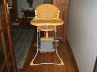 Graco Folding Highchair