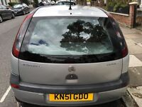 Quick sale, Vauxhall Corsa, 1.2 16V, 2001 reg, 5dr