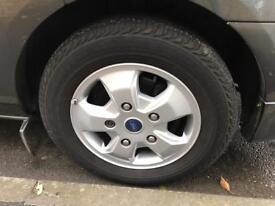 Ford transit custom set of alloys, 4x alloy wheels