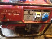 Honda EB 1900 X Generator