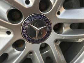 Mercedes alloy set of wheels