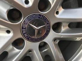 Mercedes alloy set of wheels