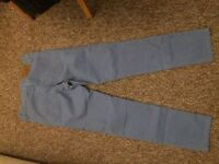 ralph lauren boys blue chino size US14