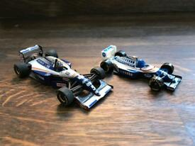 2x Damon Hill Williams Renault F1 Models - Minichamps & Matchbox