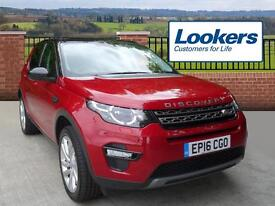 Land Rover Discovery Sport TD4 SE TECH (red) 2016-07-29