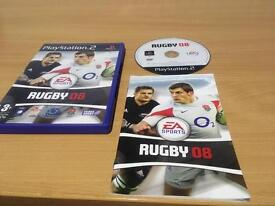 RUGBY 08 PLAYSTATION 2 GAME COMPLETE