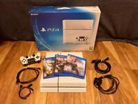 PS4 - White - Original box