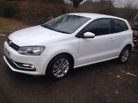 2015 Volkswagen Polo white 3 Door 1.2 CAT C Minor Damage ONLY - (Professionally Repaired)