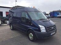 12 Ford Transit 350 MWB Semi Hi Top 4x4 Van