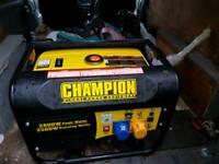 Good Generator petrol 110v 240v connection