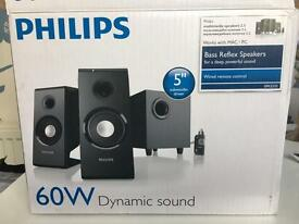 Phillips 60W speakers