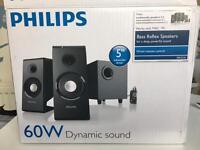 Phillips 60W speakers