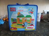 Thomas Junior Megabloks Sodor Steamworks 65 Pieces As New