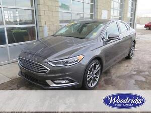 2017 Ford Fusion Titanium LOADED! AWD, LEATHER, NO ACCIDENTS