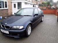BMW 318i 2.0 Sports in Orient Blue with Leather Interior