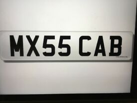MX55 CAB. Cherished number plate. Come off a Mazda MX5