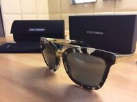 GREAT CONDITION! Dolce & Gabbana 4269 2888/6G Sunglasses (Black and Gray Frame)