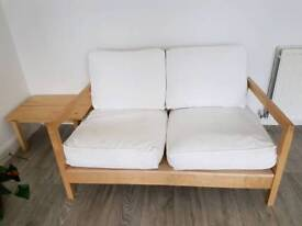 Ikea seat and coffee table set