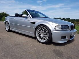 2003 BMW E46 M3 Convertible 3.2, 98k, 3 owners, FSH, all major work done - MINT