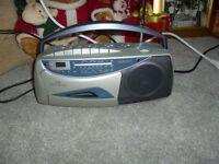 radio cassette clock