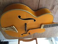 Washburn J10 Orleans Jazz Guitar Japanese Superb