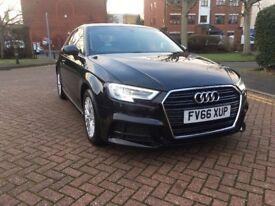 Audi A3 1.6 TDI SE Technik 3dr £0 Road Tax
