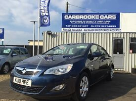 2010 10 VAUXHALL ASTRA 1.6 - EXCLUSIVE - 45,000 MILES - 12 MONTHS MOT - SERVICED - LOVELY CAR .