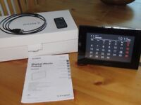 Sony Digital Photo Frame DPF-D70. First rate condition, in original box.