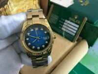 Rolex Datejust 2 Golden Case Blue Dial