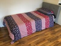 SINGLE BED AND MATTRESS IN PERFECT CONDITION, FREE DELIVERY!!