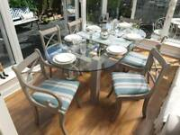 Dining table andchairs