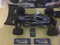 FTX Brushless Vantage RC Car with loads of upgrades and spares