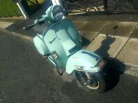 2004 Vespa PX125 MY Disc Only 1300 Miles 1 Owner