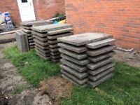 Free for collection 3x2 paving slabs