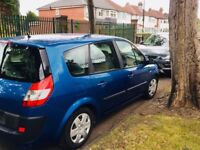 Renault grand scenic mpv 1.6 petrol 7 seater folding seats drives well galaxy zafira
