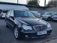 2007 Mercedes C220 cdi Estate Automatic Full Service History
