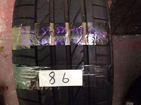 Bridgestone 225-55-17 91v tyre (86)